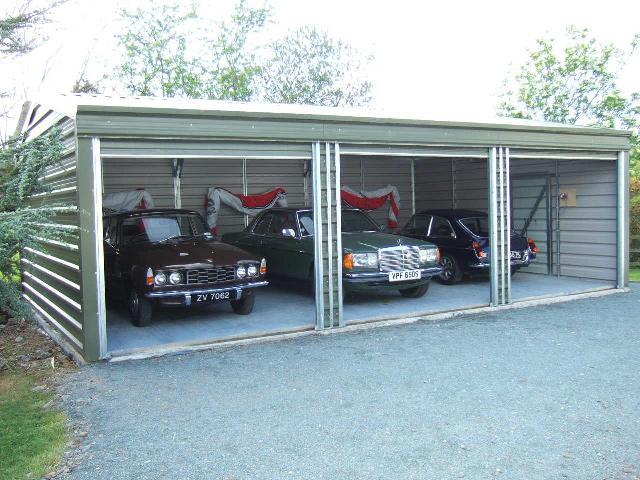 30ft X 20ft 3 Car Garage Multipurpose Garden Sheds And Garages